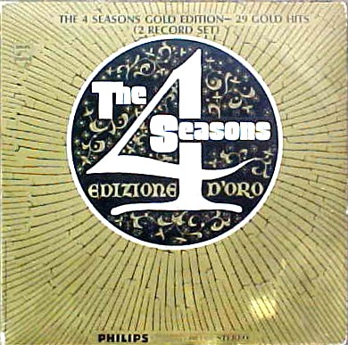 Edizione D'Oro - Four 4 Seasons 1968 LP COVER