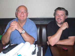 Mike Taylor and John Pingree
