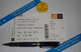 Ticket and Pen