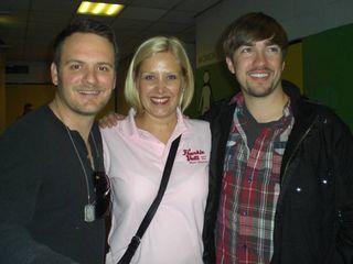 Brandon, Helen and John