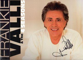 Frankie Valli Signed Programme
