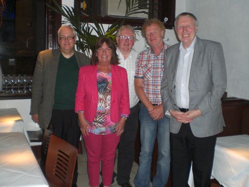 John Riley, Lynn Boleyn, Ray Nichol, Byan Lomas and George Ingram 16.6.13