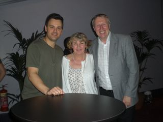 Brian Brigham with George and Jackie Ingram