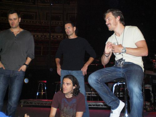Brian, Todd, Robbie and Landon and Robbie