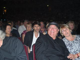 Ryan Malloy- Mike and Linda Taylor front row RAH