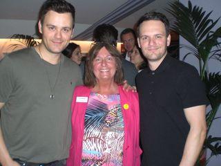 Brian and Brandon Brigham with Lynn Boleyn