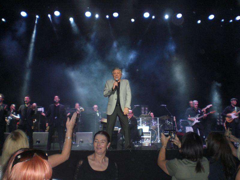 Dublin Frankie on Stage
