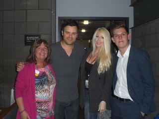 Lynn, Brian, Gretchen and Ben