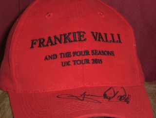Dawn's Signed Hat by Frankie Valli