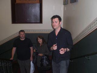 Brian Brigham RAH 29.6.15 John Pingree and Lisa Murphy in background