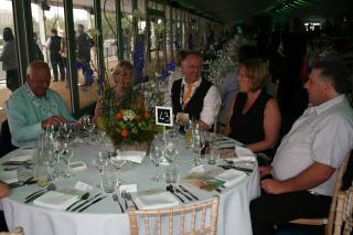 Mike and Linda Taylor; Mark and Alison Garvey and John Pingree