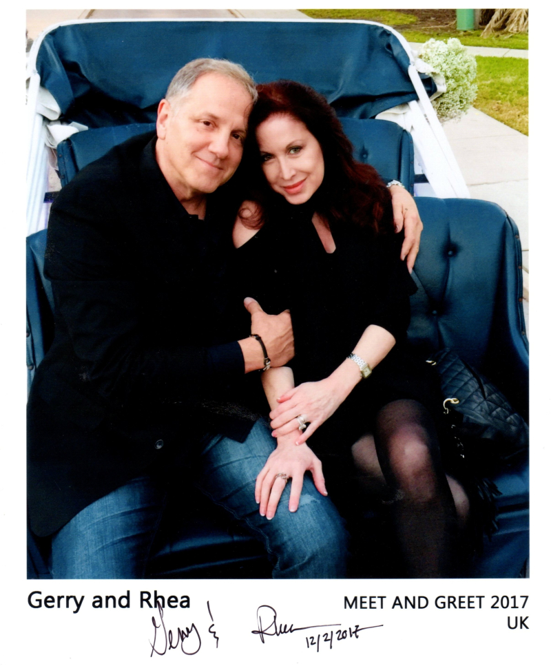 Gerry and Rhea Polci Meet and Greet 2017 UK
