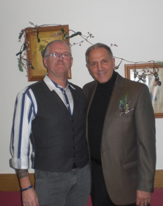 Gerry Polci with Mark Garvey