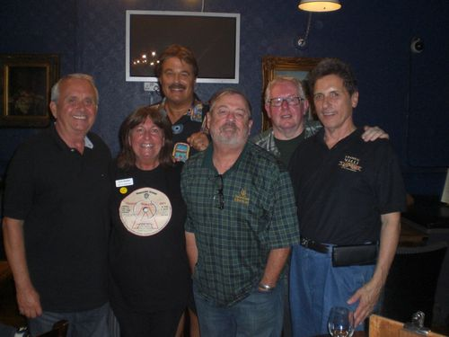 Bill Bozwman, Lynn Boleyn, Art Rickless, Johnny Hornsby, Ray Nichol and Jim Davis