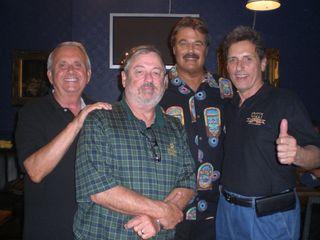Bill, Johnny, Art and Jim