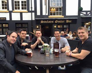 Craig, Brian, Brandon, Todd and Rick