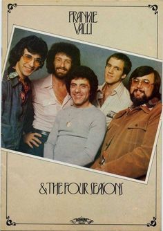 Don Ciccone with Lee Shapiro and John Paiva plus Gerry Polci and Frankie Valli