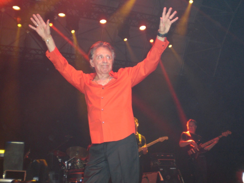 Frankie Valli on Stage in Cork