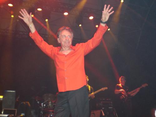 Frankie Valli on Stage in Cork