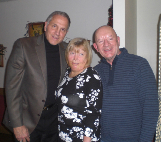 Cath and Frank with Gerry Polci