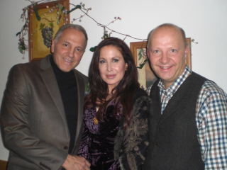 Gerry and Rhea Polci with Martin Weir
