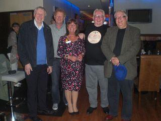 George, Bryan, Lynn, Ray and John View Bar, Manchester 26.6.15