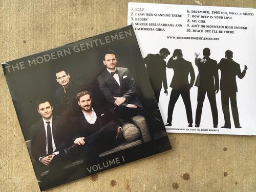 The Modern Gentlemen CD tracks
