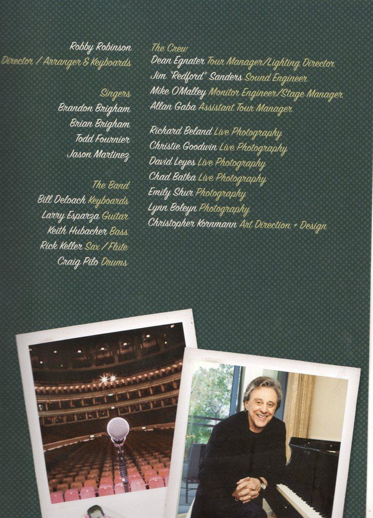 2017 Tour Brochure Names