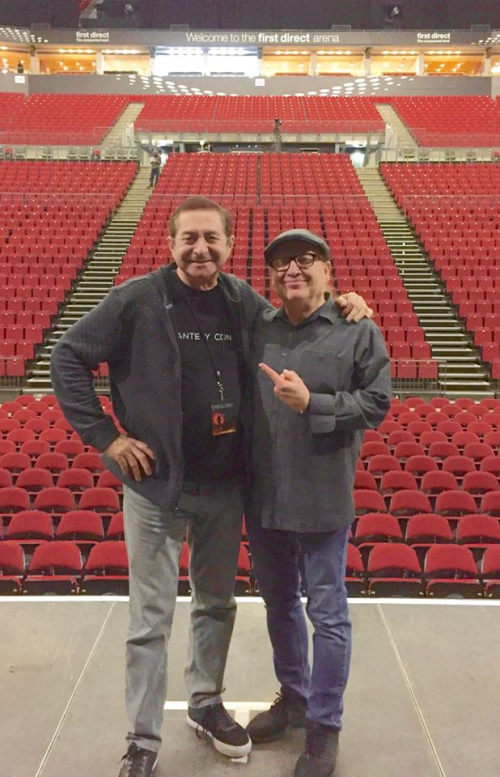Richard Garcia and Robby Robinson First Direct Arena in Leeds UK 28.11.18