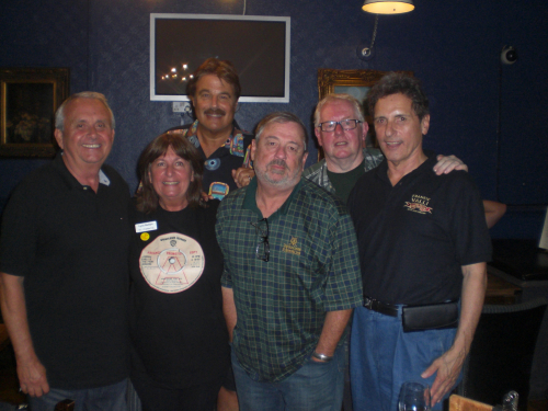 Our American Guests of Honour in 2008 with Johnny Hornsey front right and Bill Bozeman front left