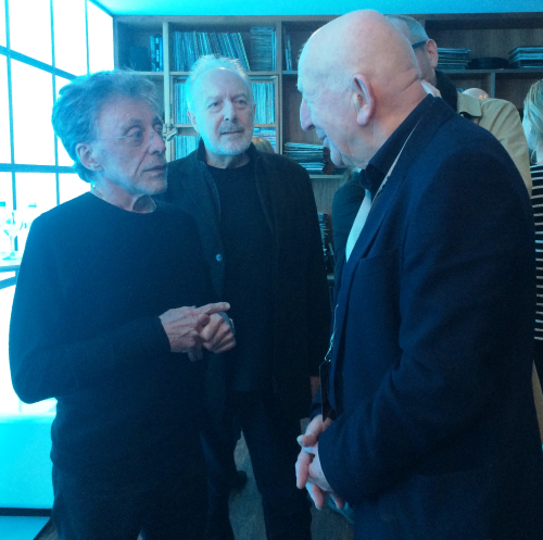 Frankie with Danny Betesh  Kennedy Street Enterprises and Bob Fisher at O2