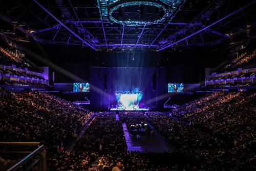 15 000 people at The O2 London