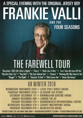 Uk Farewell Tour Flyer 2018