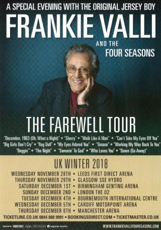 Uk Farewell Tour Flyer 2018