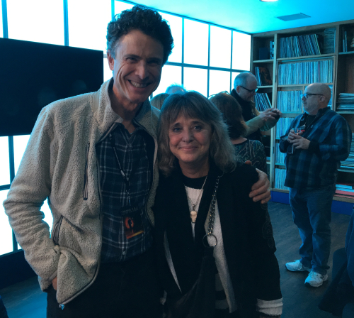 Wil Roberts and Suzi Quatro at 02 in London December 2018