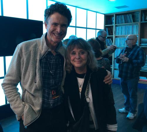 Wil Roberts and Suzi Quatro at 02 in London December 2018