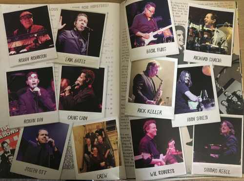 Tour Brochure Band Members
