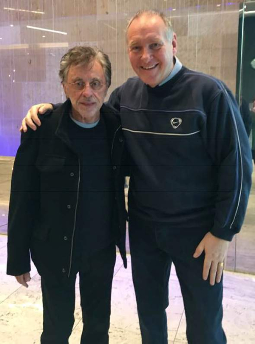 Frankie and Gerry at Intercontinental London 3.12.18