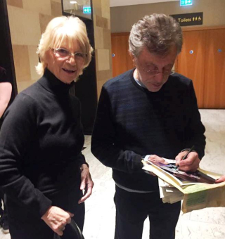 Frankie with Maureen Halliwell Intercontinental Hotel London3.12.18