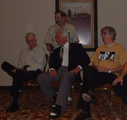 Joe and Demetri at Raleigh with Charles Alexander and Johnny Hornsby 2008