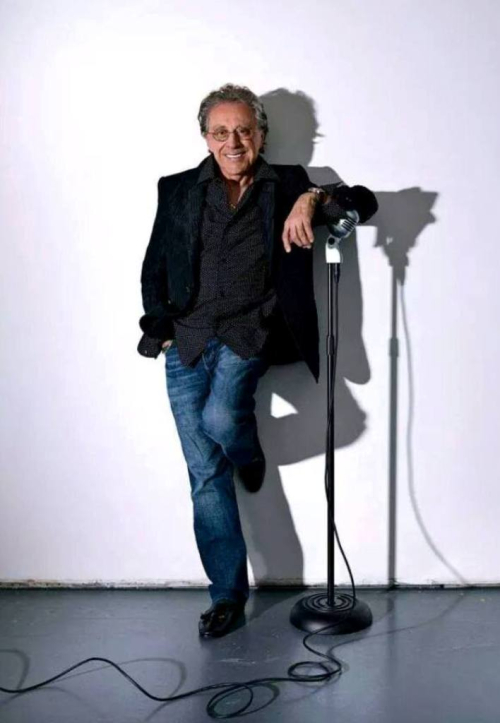Frankie Valli with Microphone 3