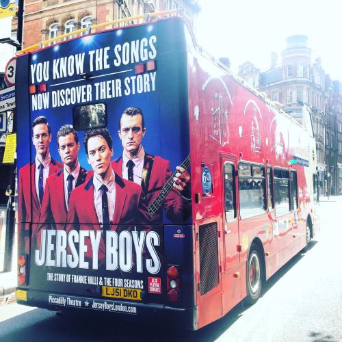 Jersey Boys Bus