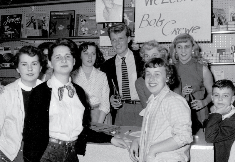 Bob Crewe with Fans