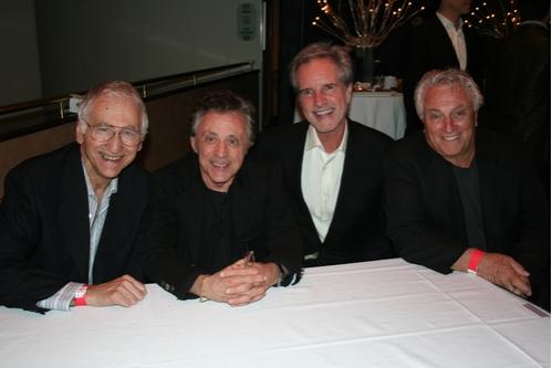 Joe Long  Frankie Valli  Bob Gaudio and Tommy DeVito