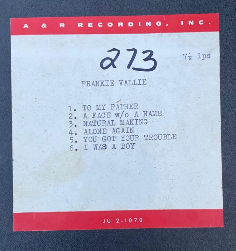 Lost Tape 1968